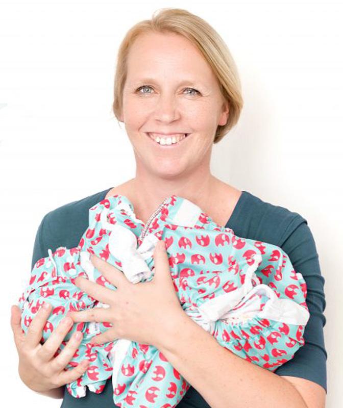 Sonja - Gründerin der Windelei 2018 Foto: Andrea Werner