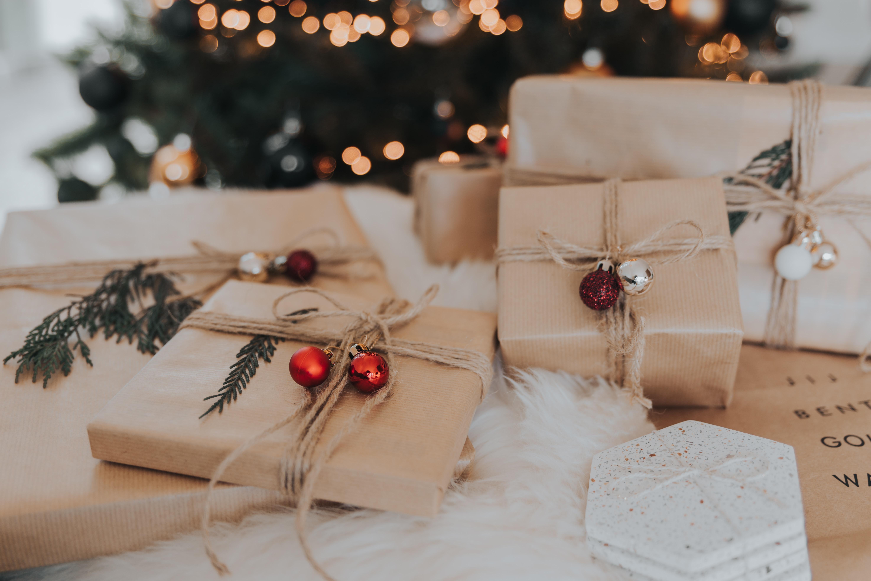Geschenke an Weihnachten