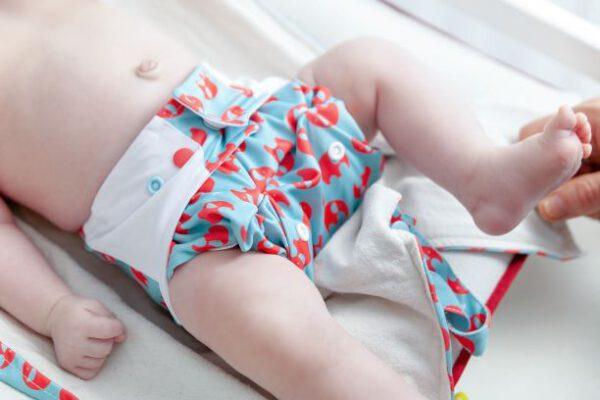 Snyggebyx am Baby